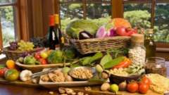 Середземноморська дієта в умовах россии: меню на тиждень, рецепти