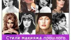 Стилі макіяжу минулого століття і їх особливості