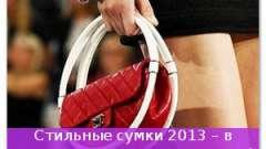Стильні сумки 2013 - в моді креатив і практичність!