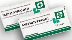 Свічки «метилурацил» при геморої