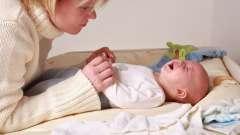 Свічки від запору для новонароджених