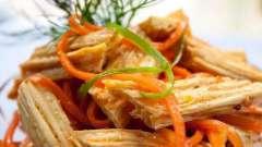 Східний салат з фучжи, або як приготувати спаржу по-корейськи?