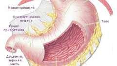 Можливі причини болю в шлунку вгорі посередині